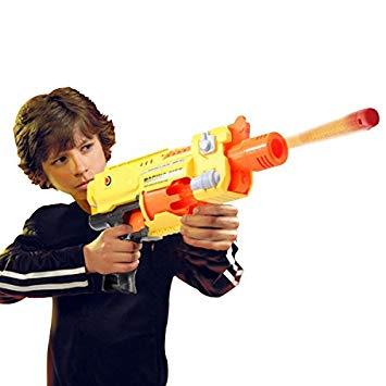 pistolet balle en mousse