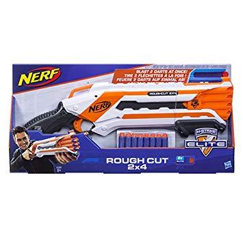 pistolet nerf elite rough cut