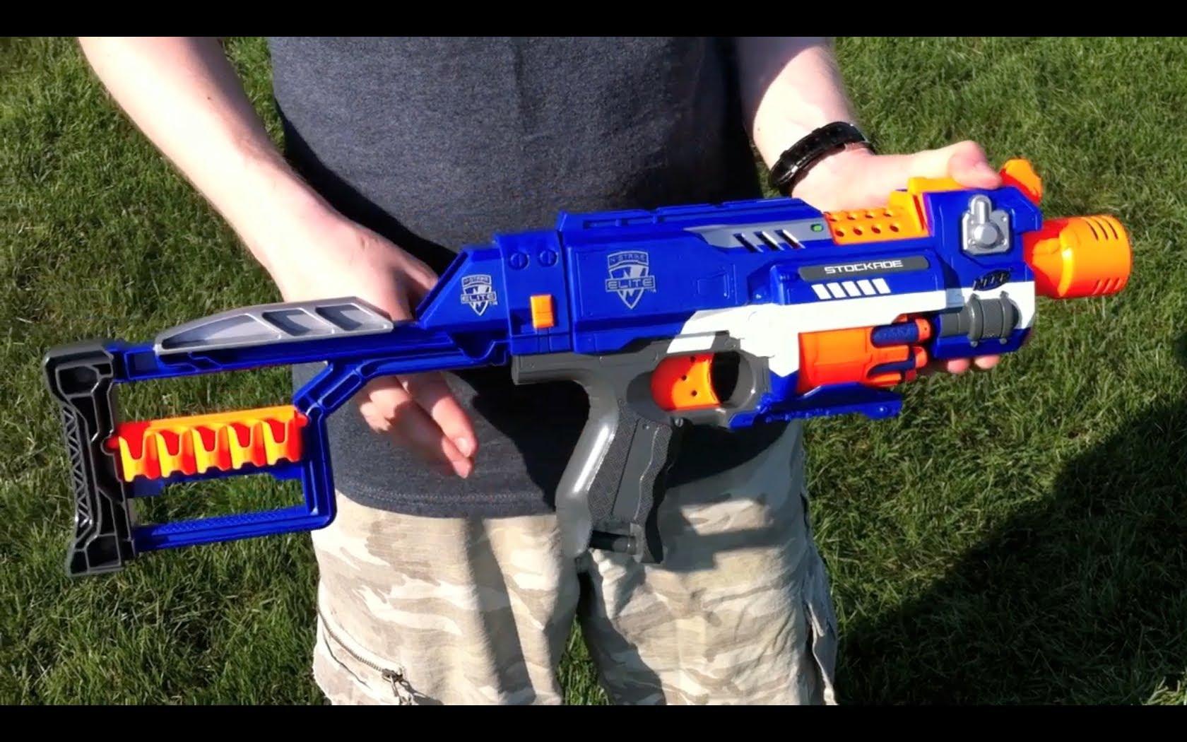 pistolet nerf elite stockade
