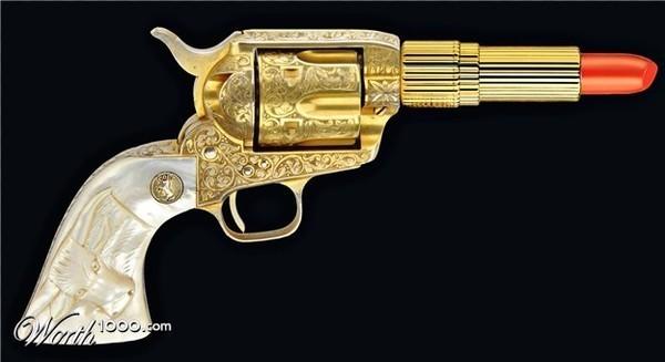 pistolet rouge a levre