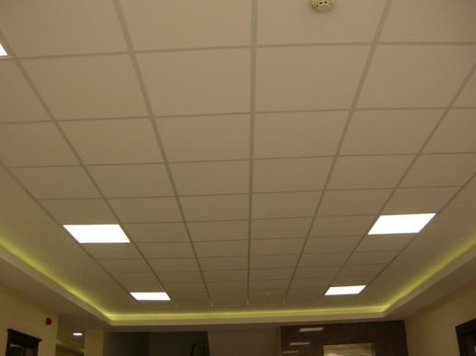 plafond dalle suspendu