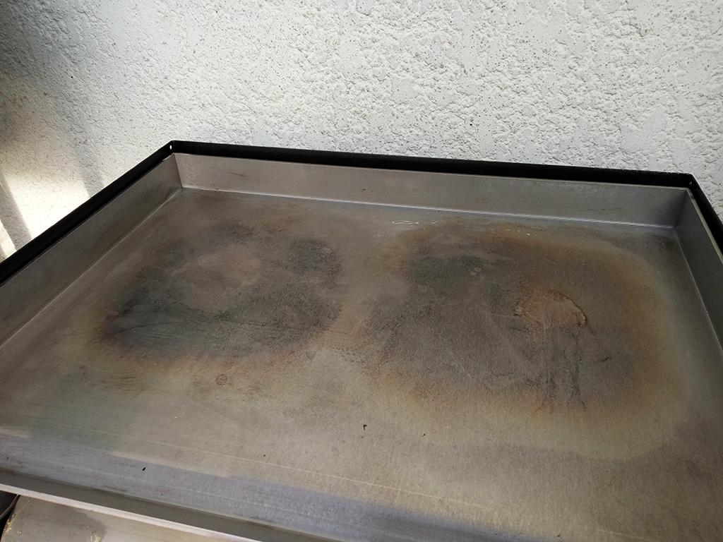 plancha acier ou inox