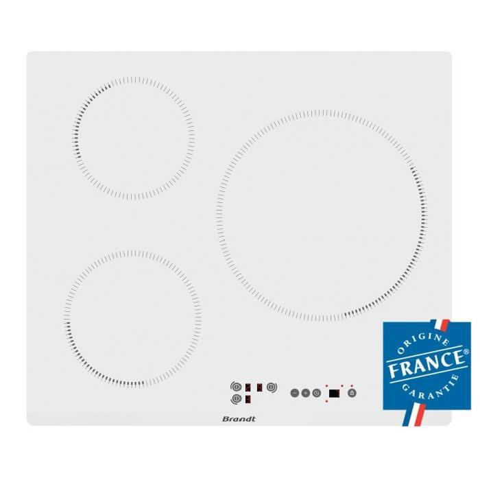 plaque a induction blanche