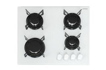 plaque cuisson gaz blanc