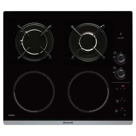 plaque de cuisson mixte gaz et induction