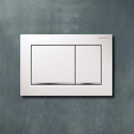 plaque wc geberit