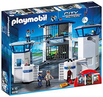 playmobil commissariat