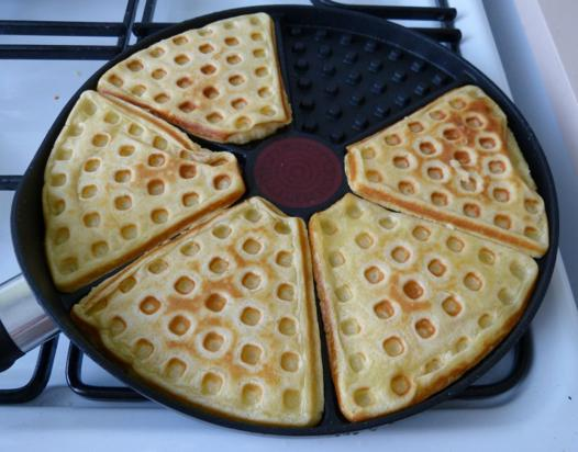 poele a gaufre
