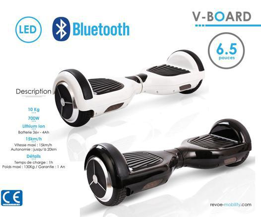 poids hoverboard