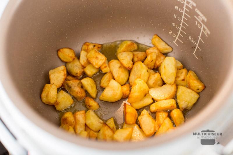 pomme de terre au multicuiseur