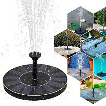 pompe fontaine solaire pour bassin