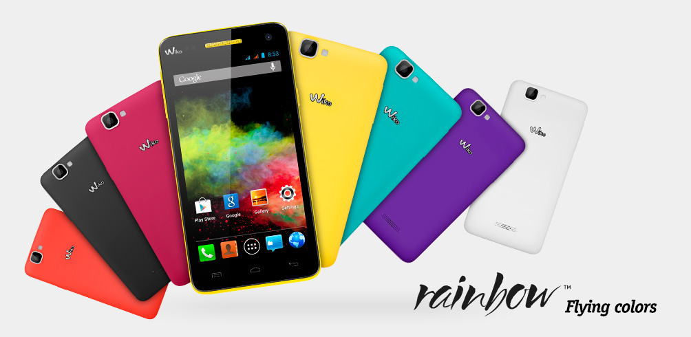 portable wiko rainbow