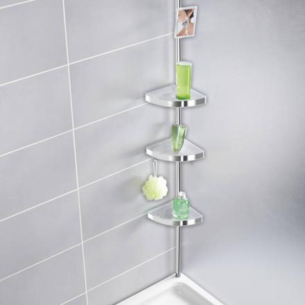 porte savon telescopique pour douche