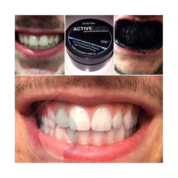 poudre blanchiment dentaire