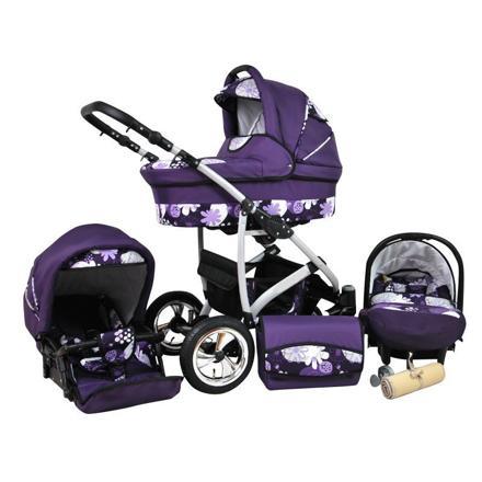 poussette violette