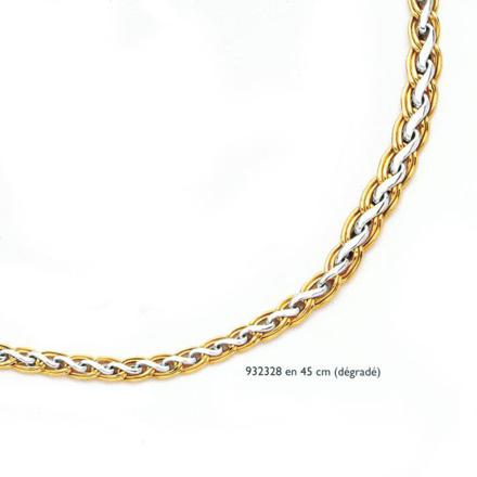 prix collier or 18 carats