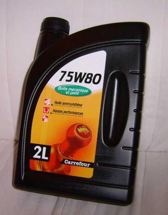 prix huile de boite de vitesse
