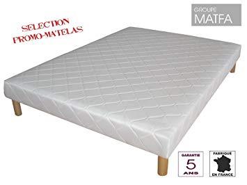 prix sommier tapissier 140x190