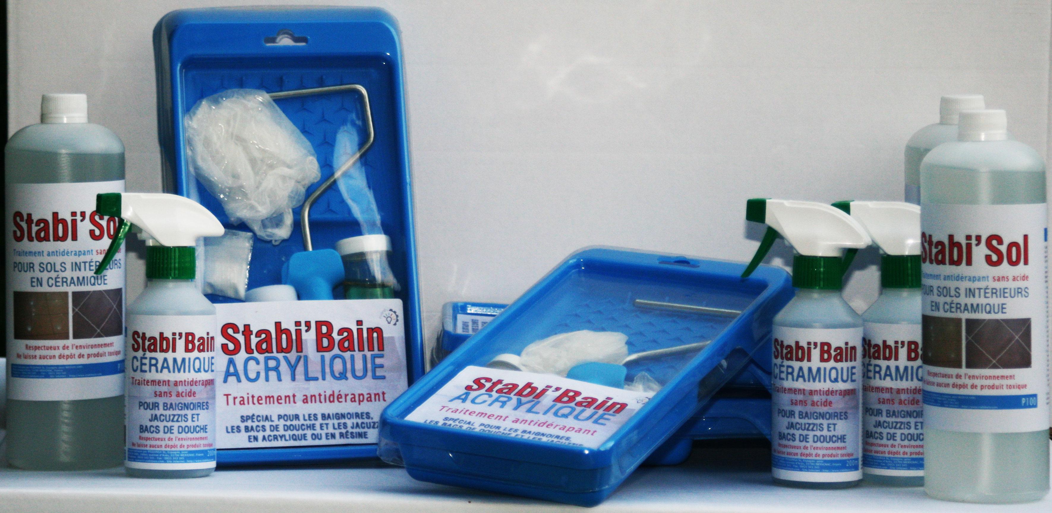 produit antidérapant pour douche