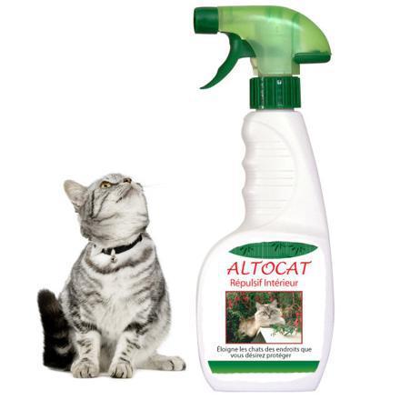produit répulsif chat canapé