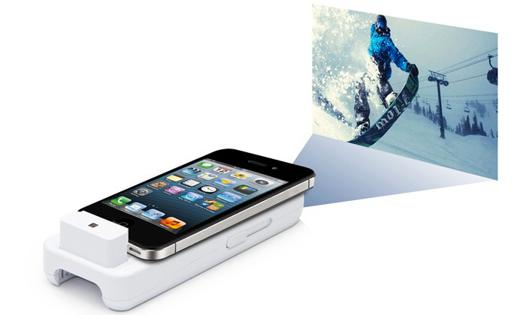 projecteur iphone