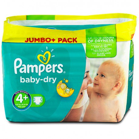 promo couches pampers taille 4