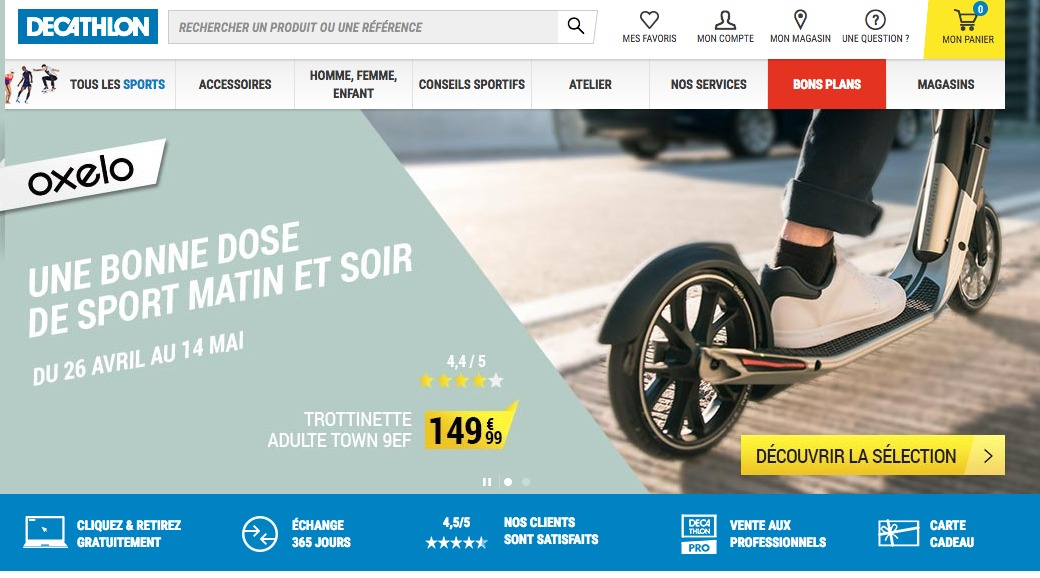 promo decathlon