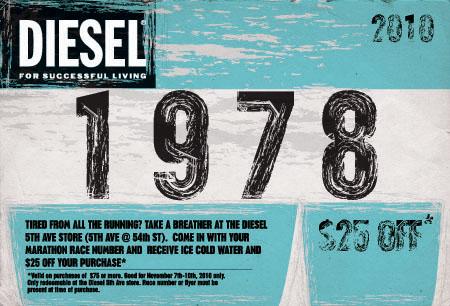 promotion diesel