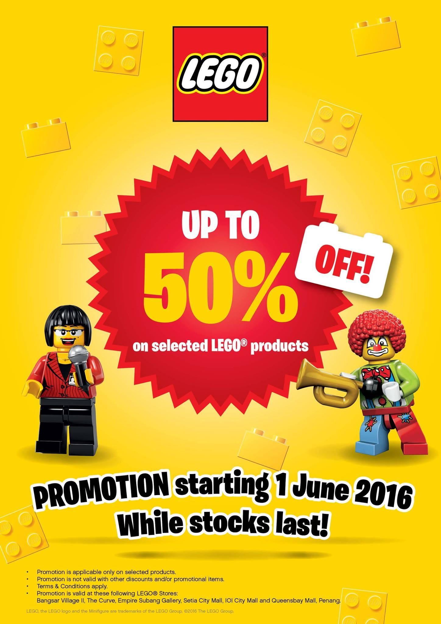 promotion lego