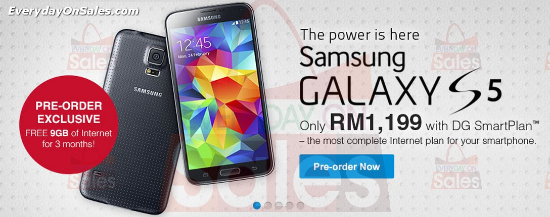 promotion samsung galaxy s5