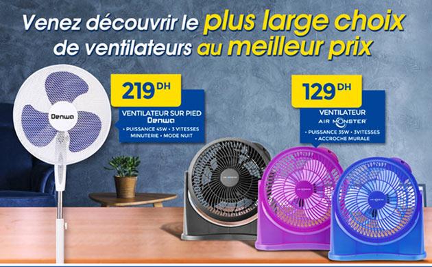 promotion ventilateur