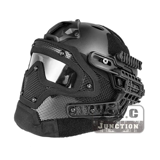 protection facial airsoft