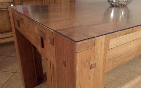 protège table transparent rigide