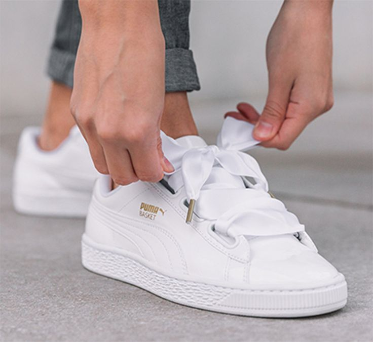 PUMA Basket Heart Patent Wn's, Sneakers Basses Femme, Gros