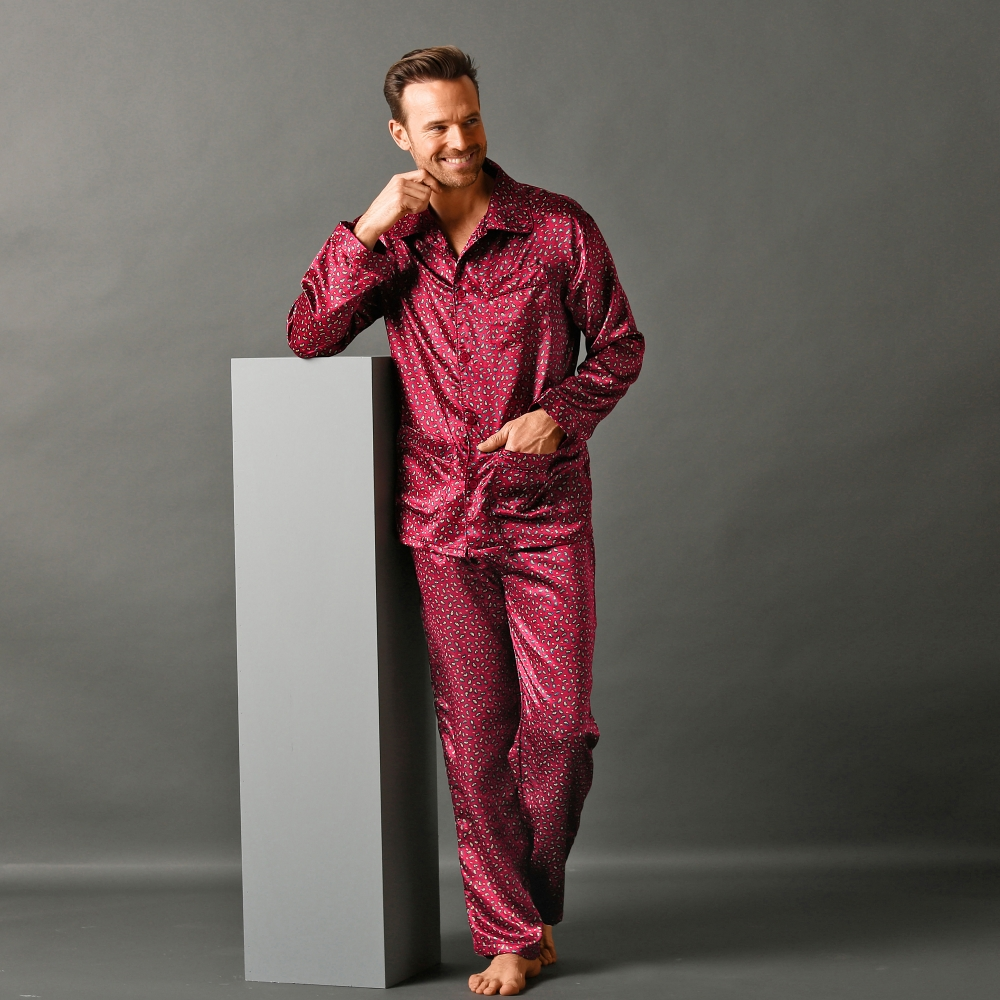 pyjama homme satin pas cher