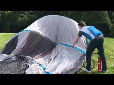 quechua tente gonflable