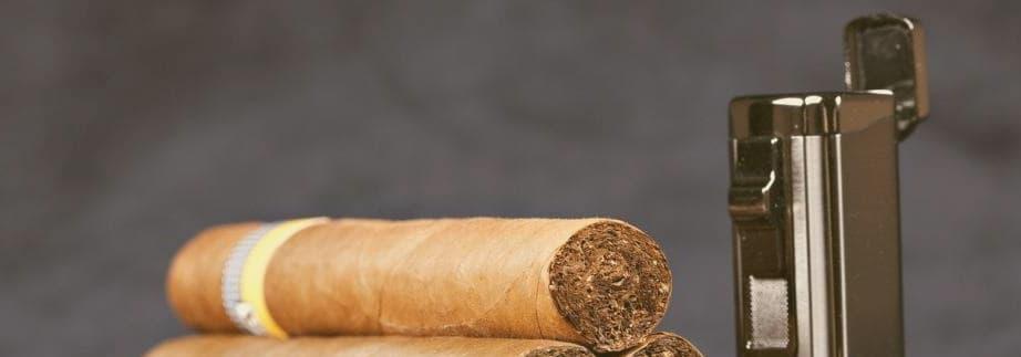 quel briquet pour allumer un cigare