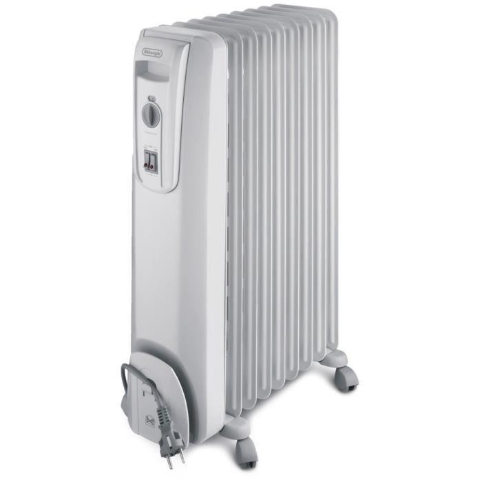 radiateur bain d huile delonghi 2500w