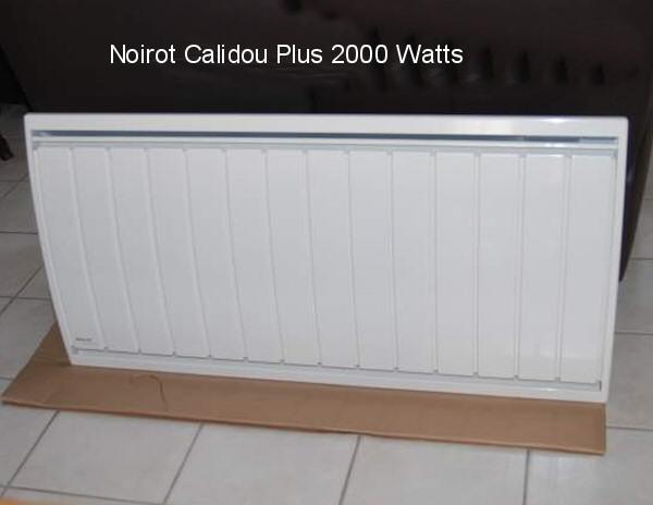 radiateur electrique bruit clic