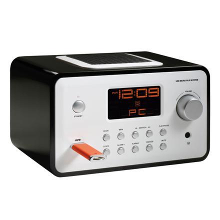 radio reveil lecteur mp3