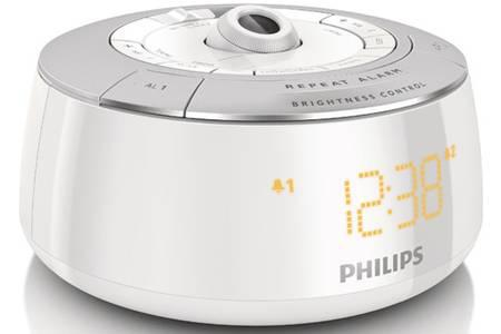 radio reveil projecteur philips