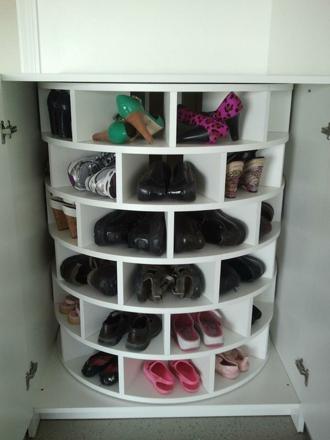 rangement chaussures placard