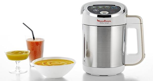 recette soupe au blender moulinex