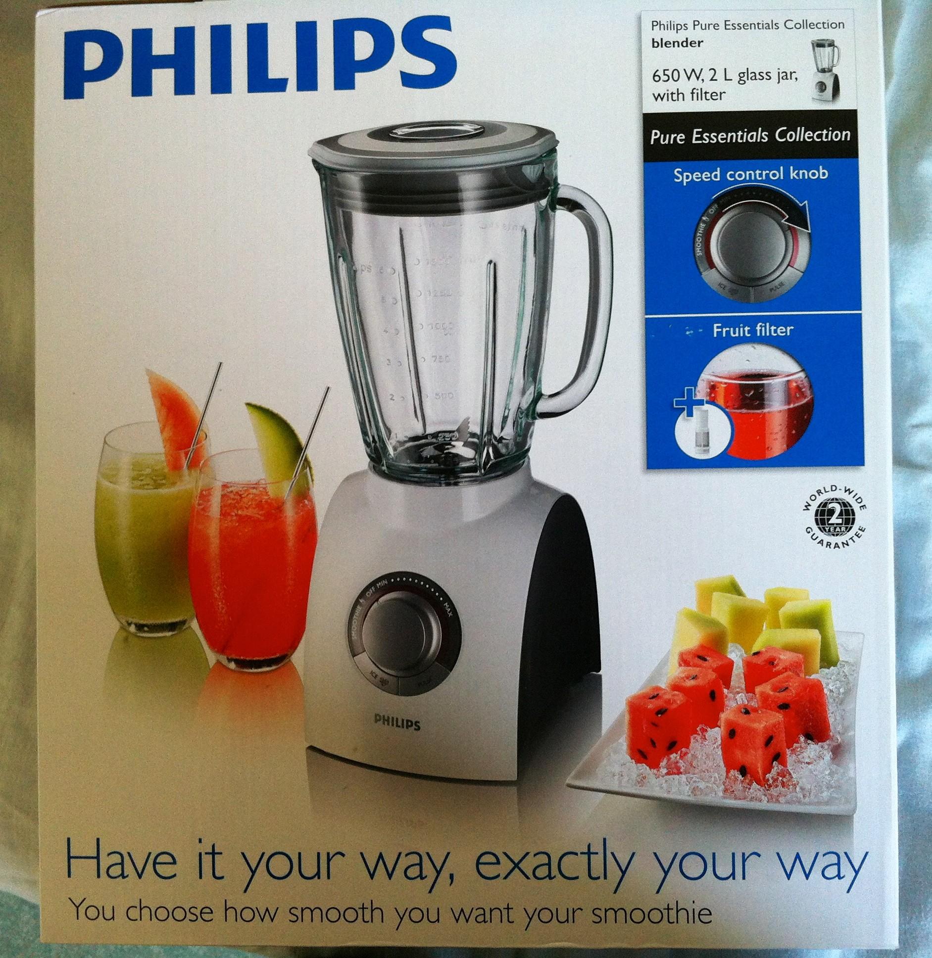 recettes blender philips