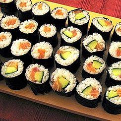 recettes de makis et sushis