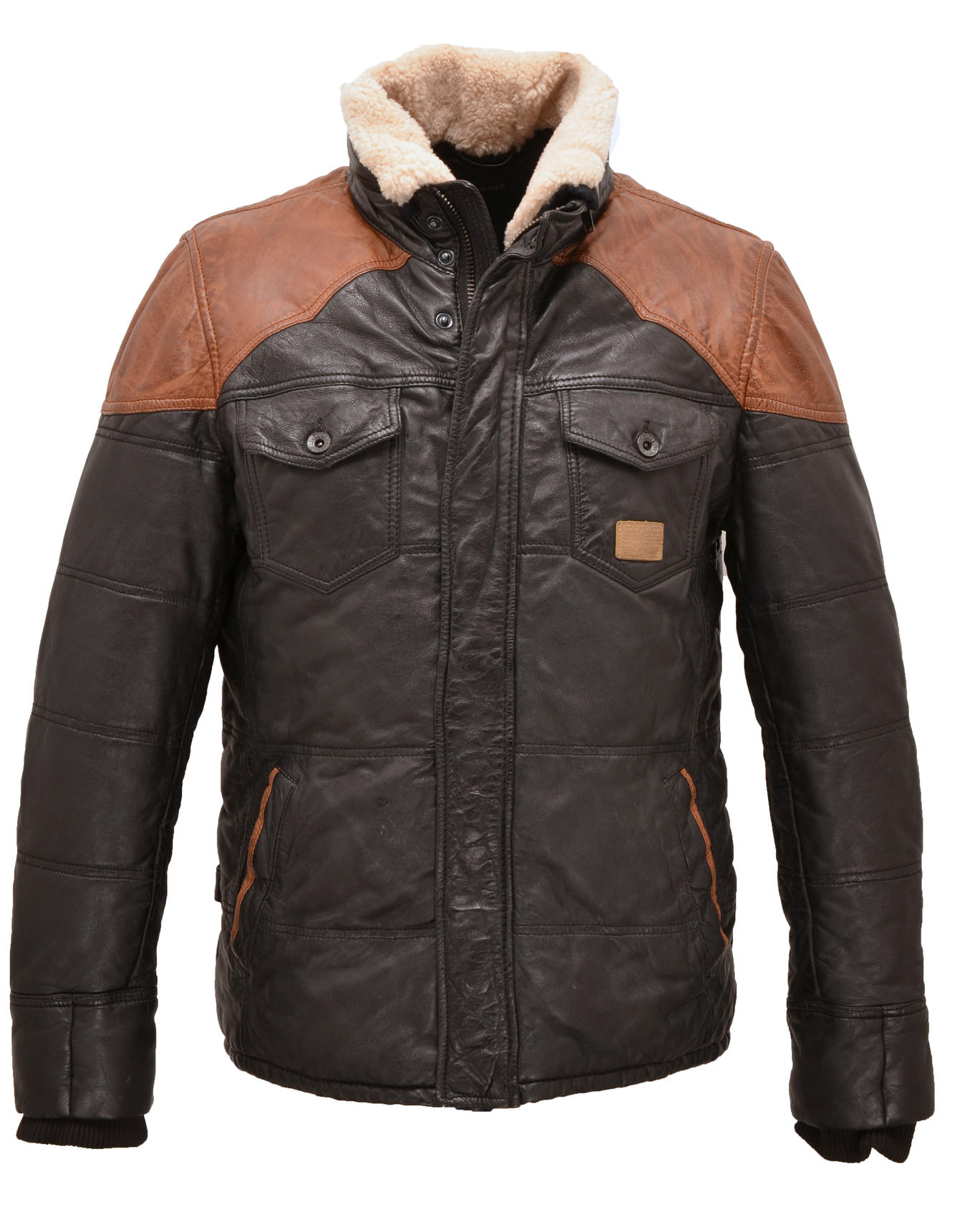redskins veste cuir
