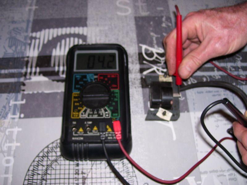 reglage bobine allumage tondeuse