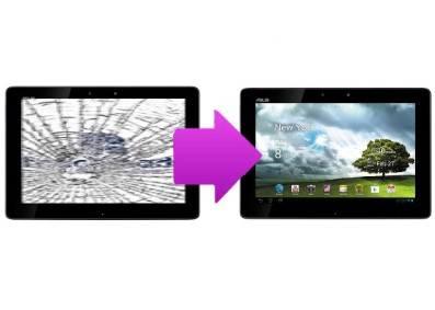 remplacer ecran tablette asus