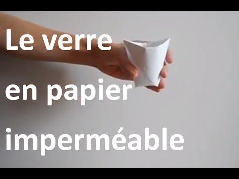 rendre du papier imperméable