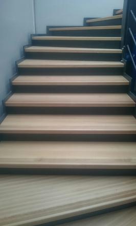 rendre un escalier silencieux